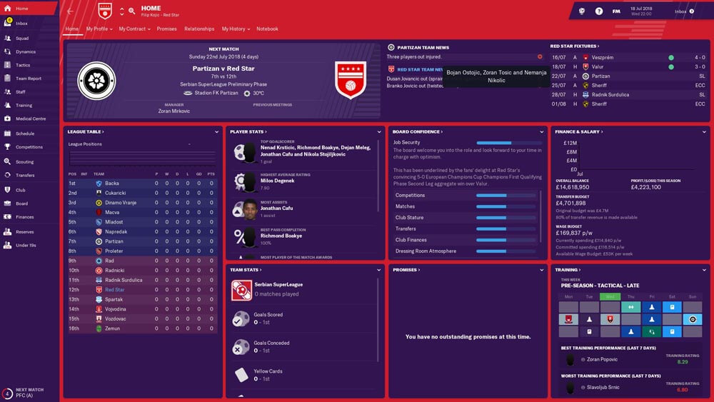 Football Manager 2019 opis