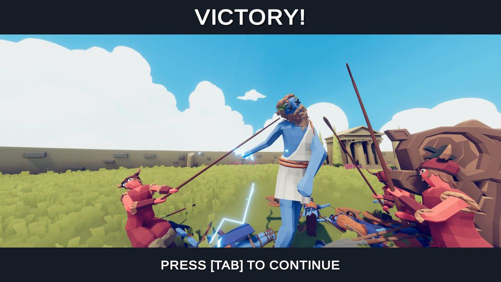 Totally accurate battle screenshot 2
