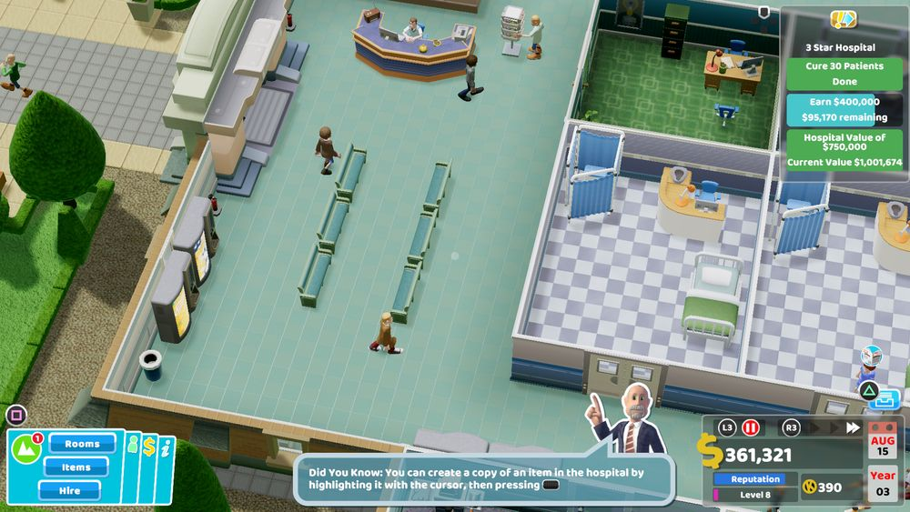 Two Point Hospital 4